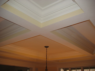 Dining Room Crawford Ceiling